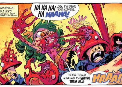 I Hate Fairyland, Comics
