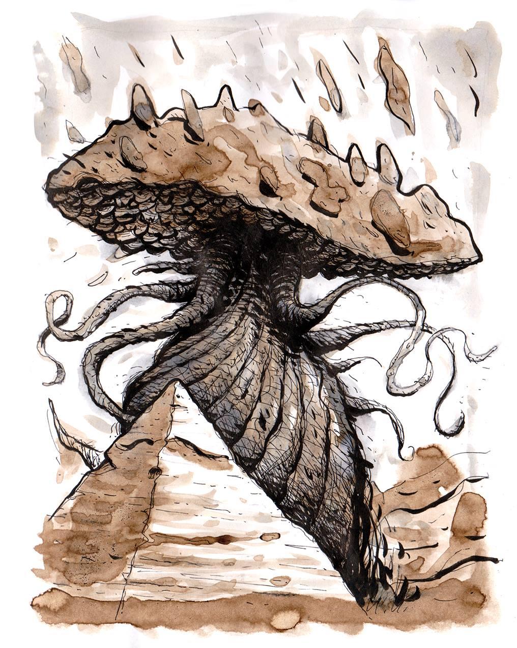 Monstrous Lovecraftian Fungi
