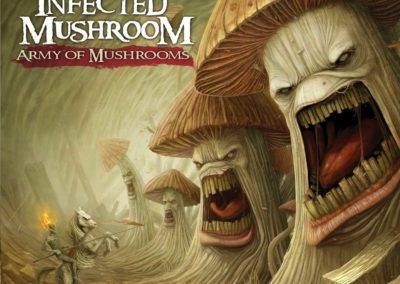 Couverture d'Army of mushrooms, LP d'Infected Mushroom