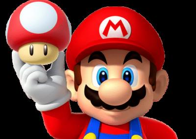 Le Mario des jeux Nintendo