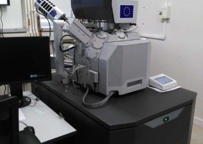 Le microscope électronique à balayage de Poitiers